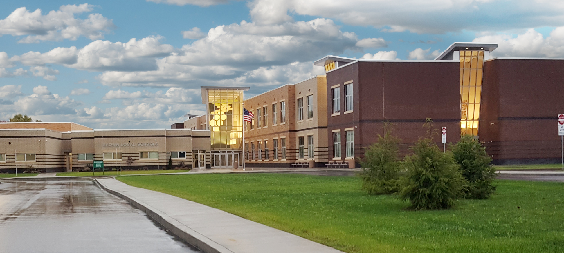 Brown Local School Exterior Ohio
