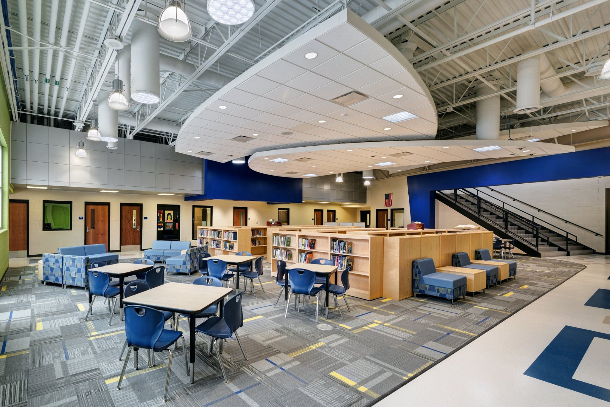 Streetsboro High School common area